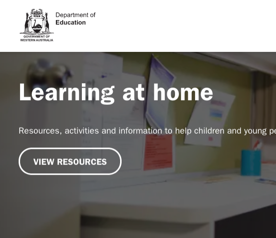 Learning At Home Resources