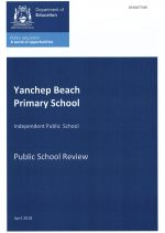 Yanchep Beach Primary School Review report April 2018 - FINAL COPY